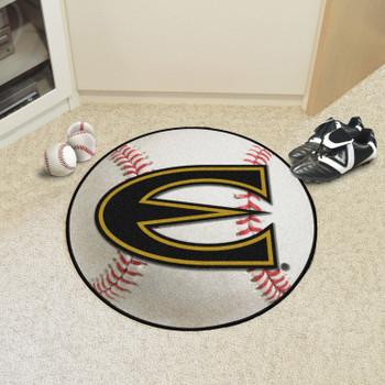 "27"" Emporia State University Baseball Style Round Mat"