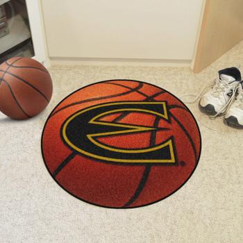 "27"" Emporia State University Basketball Style Round Mat"