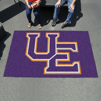 "59.5"" x 94.5"" University of Evansville Black Rectangle Ulti Mat"