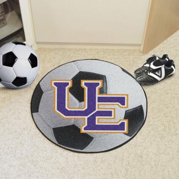 """27"""" University of Evansville Soccer Ball Round Mat"""