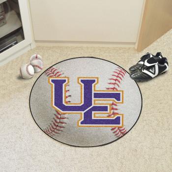 "27"" University of Evansville Baseball Style Round Mat"