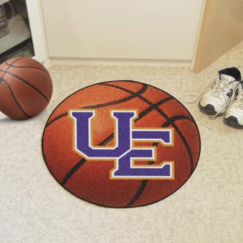 "27"" University of Evansville Basketball Style Round Mat"