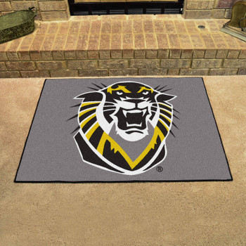 """33.75"""" x 42.5"""" Fort Hays State University All Star Gray Rectangle Mat"""