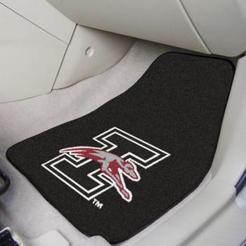 University of Indianapolis Black Carpet Car Mat, Set of 2