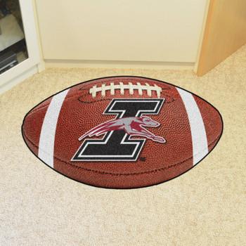 "20.5"" x 32.5"" University of Indianapolis Football Shape Mat"