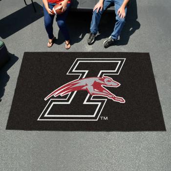 "59.5"" x 94.5"" University of Indianapolis Black Rectangle Ulti Mat"