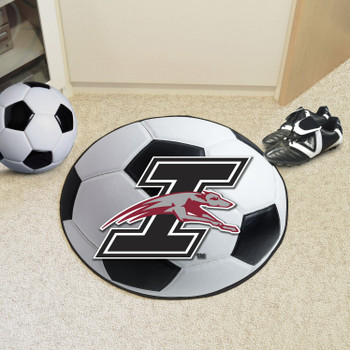 """27"""" University of Indianapolis Soccer Ball Round Mat"""