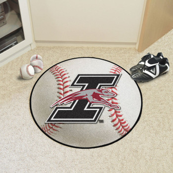 """27"""" University of Indianapolis Baseball Style Round Mat"""