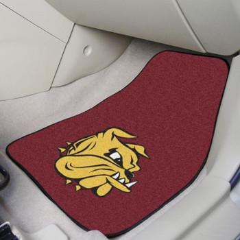 University of Minnesota-Duluth Red Carpet Car Mat, Set of 2