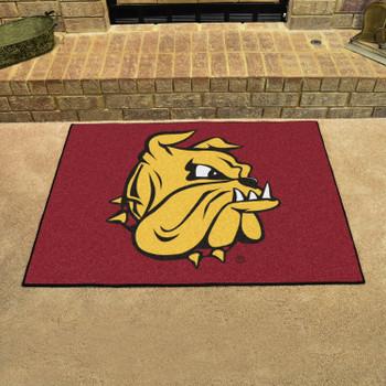 "33.75"" x 42.5"" University of Minnesota-Duluth All Star Red Rectangle Mat"
