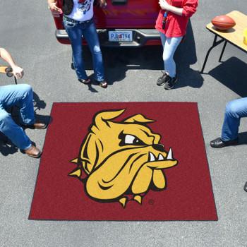 "59.5"" x 71"" University of Minnesota-Duluth Red Tailgater Mat"