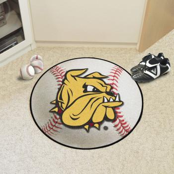 """27"""" University of Minnesota-Duluth Baseball Style Round Mat"""