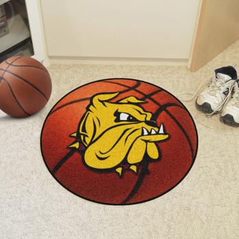 """27"""" University of Minnesota-Duluth Basketball Style Round Mat"""