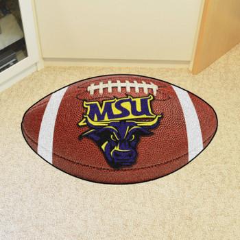 """20.5"""" x 32.5"""" Minnesota State University - Mankato Football Shape Mat"""