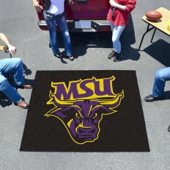 "59.5"" x 71"" Minnesota State University - Mankato Black Tailgater Mat"