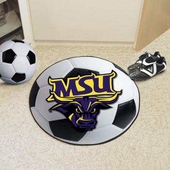 "27"" Minnesota State University - Mankato Soccer Ball Round Mat"