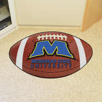 "20.5"" x 32.5"" Morehead State University Football Shape Mat"