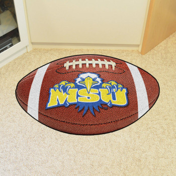 "20.5"" x 32.5"" Morehead State University Eagles Football Shape Mat"