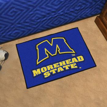 "19"" x 30"" Morehead State University Blue Rectangle Starter Mat"