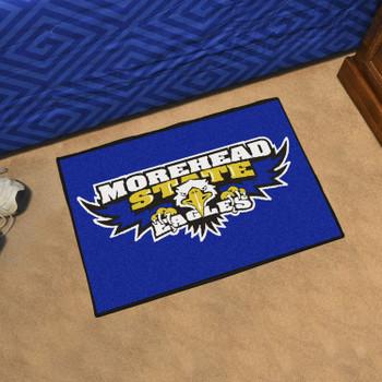 """19"""" x 30"""" Morehead State University Eagles Blue Rectangle Starter Mat"""
