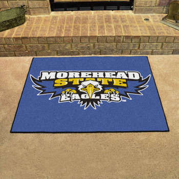 """33.75"""" x 42.5"""" Morehead State University Eagles All Star Blue Rectangle Mat"""