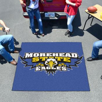 "59.5"" x 71"" Morehead State University Blue Tailgater Mat"