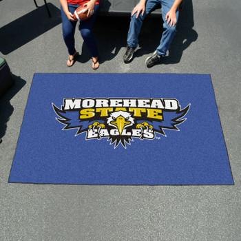 "59.5"" x 94.5"" Morehead State University Blue Rectangle Ulti Mat"