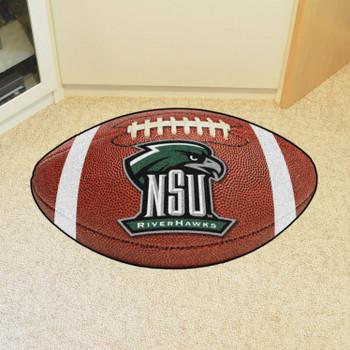 "20.5"" x 32.5"" Northeastern State University Football Shape Mat"