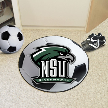 "27"" Northeastern State University Soccer Ball Round Mat"