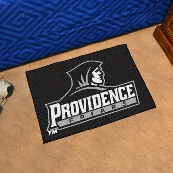 "19"" x 30"" Providence College Black Rectangle Starter Mat"