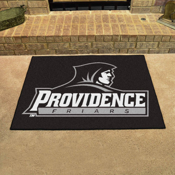 """33.75"""" x 42.5"""" Providence College All Star Black Rectangle Mat"""