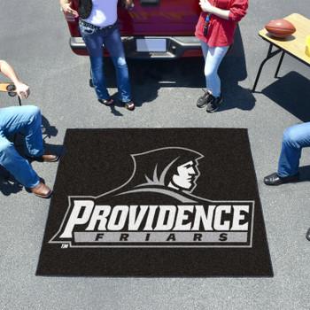 "59.5"" x 71"" Providence College Black Tailgater Mat"