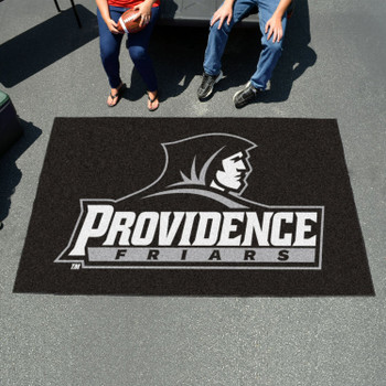 "59.5"" x 94.5"" Providence College Black Rectangle Ulti Mat"