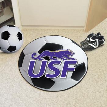 "27"" University of Sioux Falls Soccer Ball Round Mat"