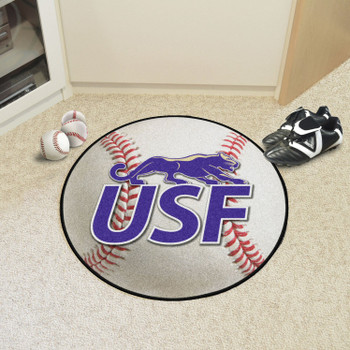"27"" University of Sioux Falls Baseball Style Round Mat"