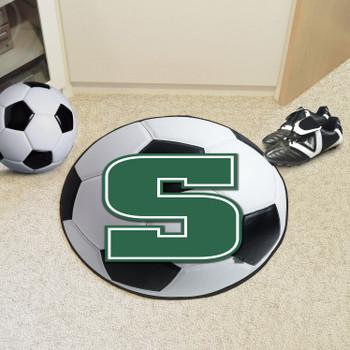 "27"" Slippery Rock University Soccer Ball Round Mat"