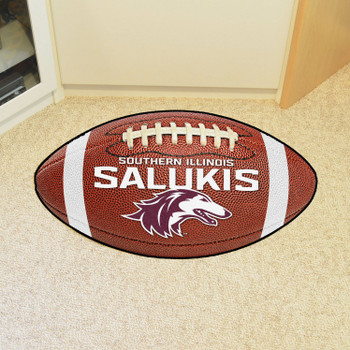 """20.5"""" x 32.5"""" Southern Illinois University Football Shape Mat"""