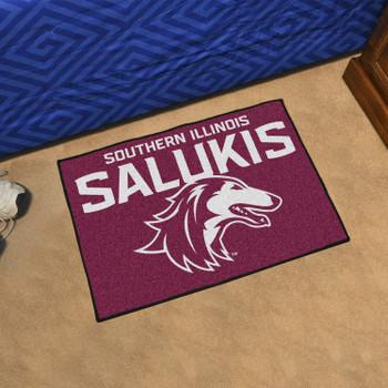 """19"""" x 30"""" Southern Illinois University Maroon Rectangle Starter Mat"""