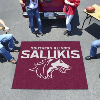 """59.5"""" x 71"""" Southern Illinois University Maroon Tailgater Mat"""