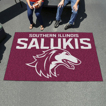 "59.5"" x 94.5"" Southern Illinois University Maroon Rectangle Ulti Mat"