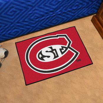 "19"" x 30"" St. Cloud State University Red Rectangle Starter Mat"