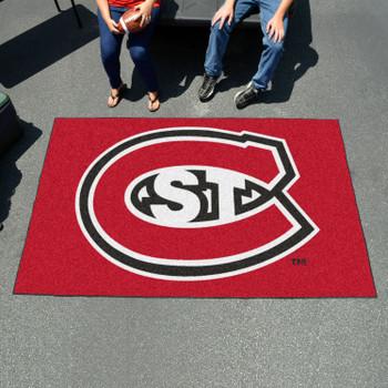 "59.5"" x 94.5"" St. Cloud State University Red Rectangle Ulti Mat"
