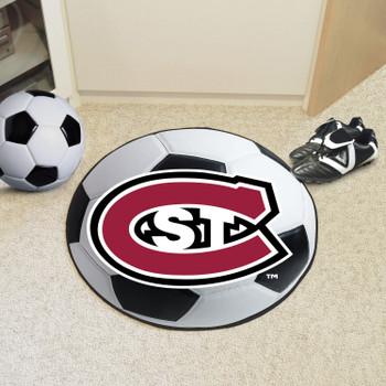 "27"" St. Cloud State University Soccer Ball Round Mat"