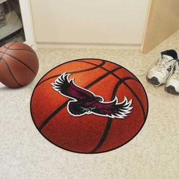 "27"" St. Joseph's University Basketball Style Round Mat"