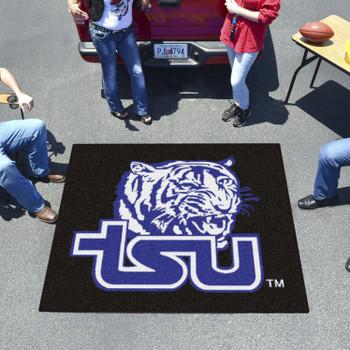 "59.5"" x 71"" Tennessee State University Black Tailgater Mat"