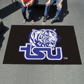 "59.5"" x 94.5"" Tennessee State University Black Rectangle Ulti Mat"