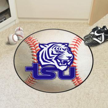 """27"""" Tennessee State University Baseball Style Round Mat"""