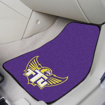 Tennessee Tech University Purple Carpet Car Mat, Set of 2