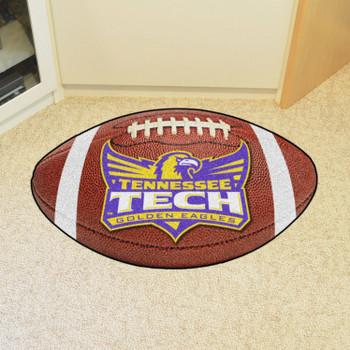 """20.5"""" x 32.5"""" Tennessee Tech University Football Shape Mat"""