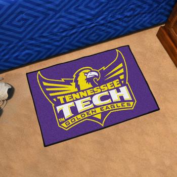 """19"""" x 30"""" Tennessee Tech University Purple Rectangle Starter Mat"""